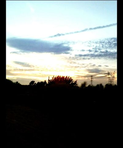 •I took this photo quite a long time ago. Enjoy• Nature Desert Desertsunset Enjoying Life Beautiful Sky