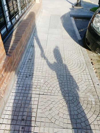 Shadow Sunlight Day High Angle View Outdoors Real People Walking Around Walking Mom & Daughter Walk With Mom Mommylife Mommy Mommyhood Mumma Mother And Child