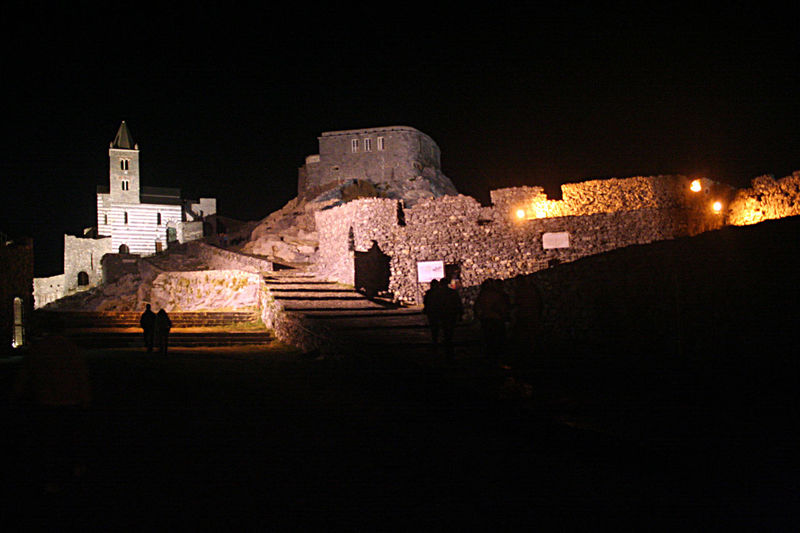 St. Peter's Church at night Church Liguria, Italy Portovenere Portovenere Liguria Italy View Ancient Ancient Civilization Architecture Black Sky Building Exterior Built Structure Church Architecture History Illuminated Italy❤️ Liguria Night Old Buildings Old Ruin Outdoors Sky Travel Destinations