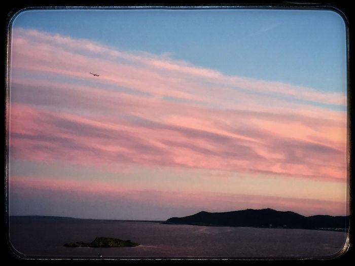 Sunset by Ibiza