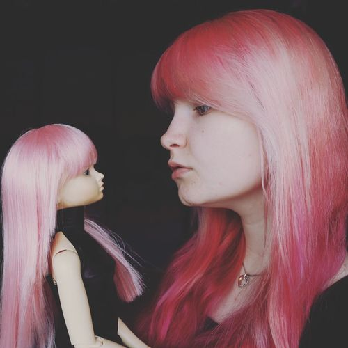 Looks like my Doll.💕👍 Small World Pink Color Pink Hair Girl Being Creative Women Of EyeEm People Photography Portrait Of A Woman Portrait Doll Hanging Out Beautiful Girl Fashion Hair Fashion Photography EyeEmBestPics EyeEm Best Shots EyeEm Gallery Eye4photography  EyeEm Best Edits Getty X EyeEm Hello World Color Portrait Cute Having Fun Bestoftheday
