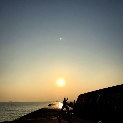 Learn & Shoot: Balancing Elements Kaohsiung Taiwan Sizihwan Taichi First Eyeem Photo