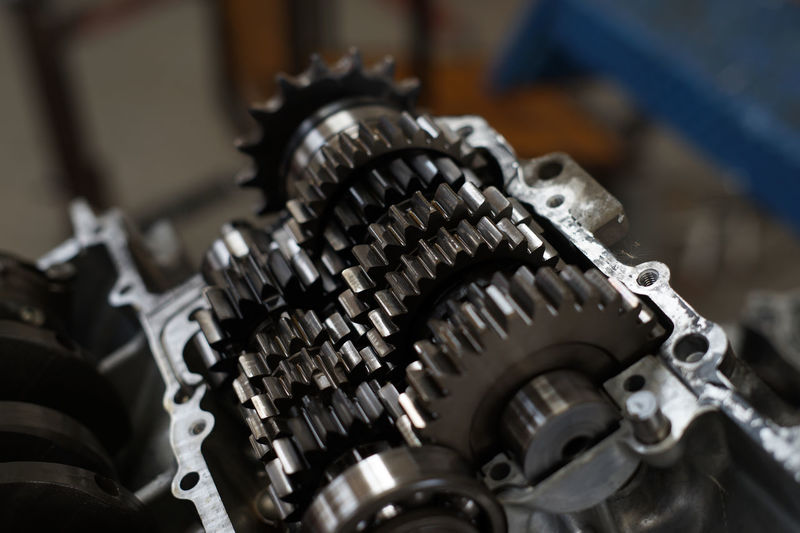 Motorcycle transmission