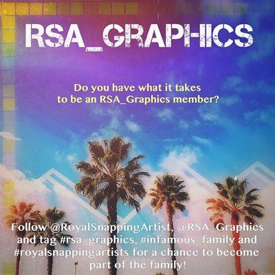 Want to become part of the ▪Infamous RSA_Graphics ▪family? Heres how. Follow RoyalSnappingArtist, RSA_Graphics and tag #rsa_graphics, #infamous_family and #royalsnappingartists for your chance!!! Reality_manipulation Igville Mobileartistry_Ampt Insta_talent Igers Insta_addict Unitedbyedit Igersfromoz Insta_crew Openfeed Sg_sf Snappeak Mobileartistry Mafia_editlove Infamous_family Royalsnappingartists Ig_artgallery Editsrus Dream_editors Rsa_graphics IPh0 Ig_artistry