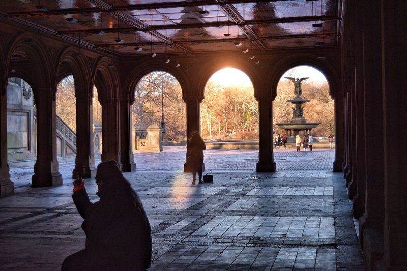Bethesda Fountain Bethesda Terrace Bethesda Arcade Bethesda Terrace, Central Park, NYC Central Park CentralPark Central Park - NYC Park My View Myview Nikon D3300 Urban Spring Fever Capture The Moment Enjoying The View Places I've Been Captured Moment Enjoying The Moment Enjoying Life Enjoying The Sights City Life Enjoying Time New York NYC Photography NYC Silhouette