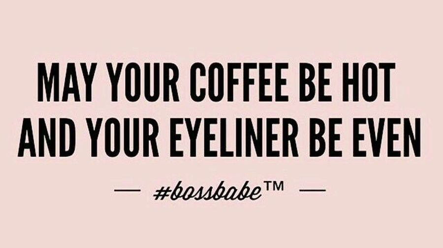 My coffee always hot..that's the way to drink it but all even eyeliner..hmmm that still need more practice ! Lol...girls..you have same trouble like me...eyeliner skill? Just Chilling Just Sayin Girls Being Girls Eye Make Up