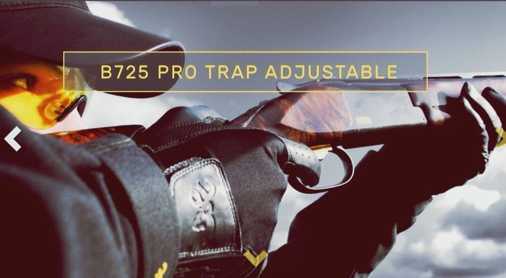 when you are in the Browning website for the new B725 ProTrap 😂 (a real jewel for the shooters)