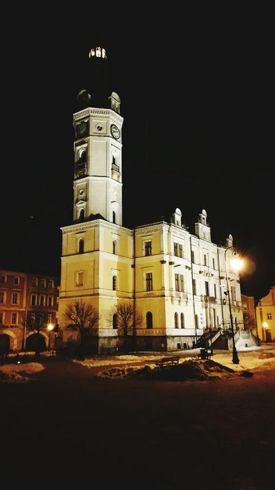 LĄDEK-ZDRÓJ Ratusz Lądek-zdrój Ratusz Townhall Noc Night Polska Poland Nightphotography Dolnyslask Klodzko
