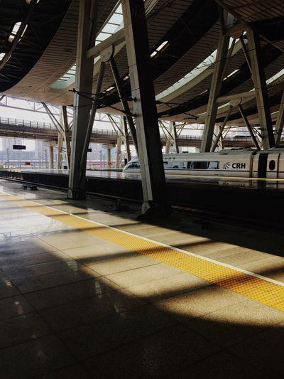 CRH Train Station Train Light And Shadow Unemployeddays