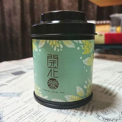留言抽獎活動被選中。 吉甲地的 開花茶 小小罐好可愛喔!💕