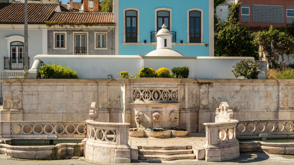 Architecture Building Exterior Built Structure Day Fountain History Leiria No People Outdoors Portugal Sculpture Sky Statue The Architect - 2017 EyeEm Awards