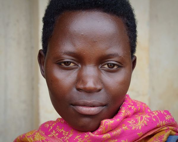 Mpara Uganda Woman Woman Portrait Beautiful Woman Portrait Looking At Camera Headshot Human Face Smiling Confidence  Front View Close-up Natural Beauty This Is My Skin