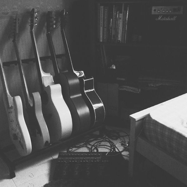 Pretty much sums up my weekend. Marshall Ibanez Fender Yamaha Boss vscocam