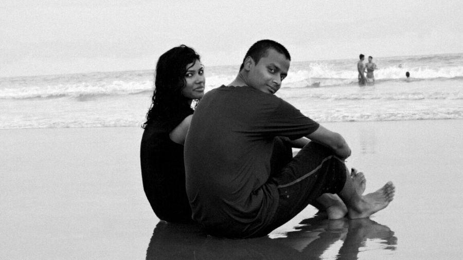 Black And White Friday Togetherness Beach GoMONO HonorImpressions EyeEmNewHere