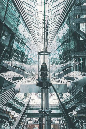 Window Building Exterior 建筑摄影 Phototography Mirror Colour Reflection Ceiling Architecture Architecture Close-up