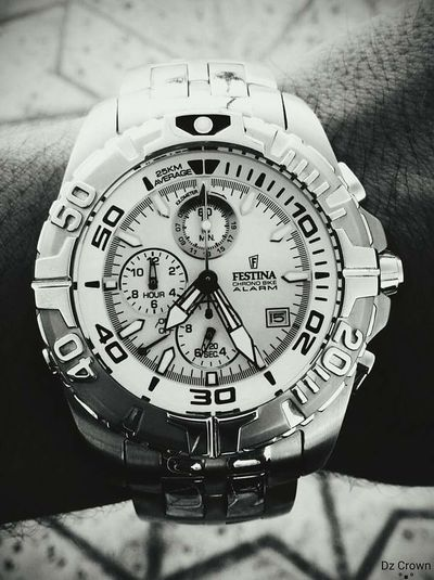 Check This Out My Watch ⌚ Festina It's Never Let Me Down Time Is Time I Love It