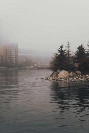 Calm Dark Water Quiet Reflection Barren Hazy  Lone Figure Minimal Minimalism Moody Mysterious No People Ocean Outdoor Outdoors Water Waterfront