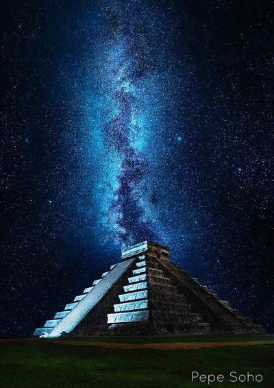 Astronomy Night Galaxy No People Space Ancient Civilization