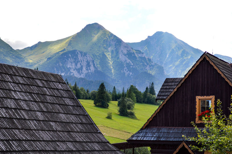 "from ""This is Slovakia"" series Folk Architecture Architectural Feature Folk Village Rural Rural Scene Rural Landscape Landscape Mountains Mountain Range Village Nature Beauty In Nature Home Is Where The Art Is From My Point Of View Taking Photos TheWeekOnEyeEM Scenics Tranquil Scene Travel Outdoors Vacation Tourist The Architect - 2017 EyeEm Awards The Great Outdoors - 2017 EyeEm Awards"
