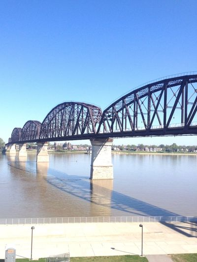 The Big Four Bridge In Louisville Kentucky