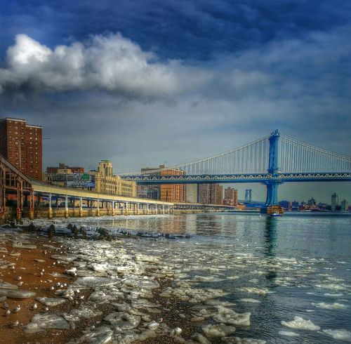 The Places I've Been Today Brooklyn Bridge  South Street WeAreJuxt.com OpenEdit Tadaa Friends Hdr_Collection