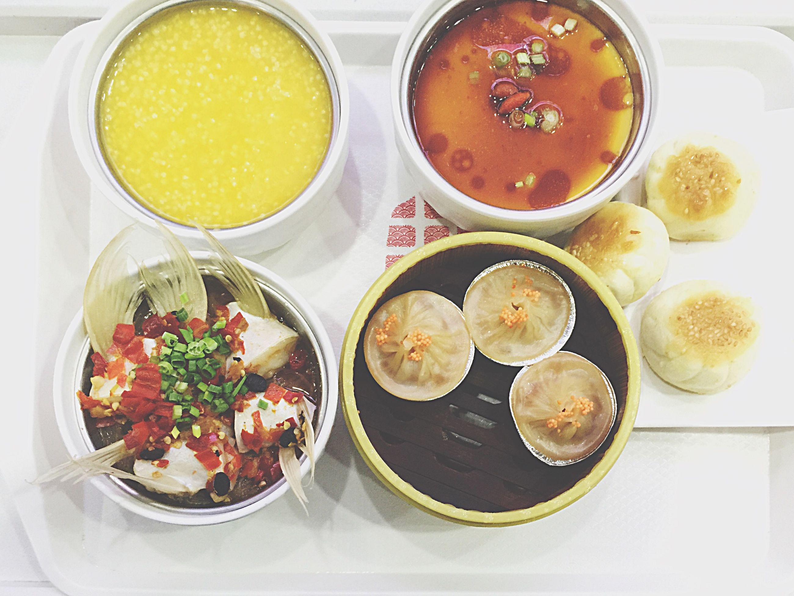 food and drink, indoors, food, freshness, ready-to-eat, plate, table, serving size, bowl, meal, vegetable, served, soup, indulgence, temptation, garnish, homemade, appetizer, tray, prepared potato, place setting, main course, lunch