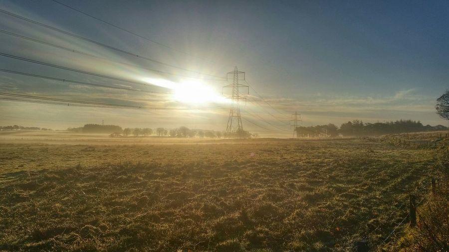 Countryside Foggy Morning Sun_collection Sunrise November Showcase: November