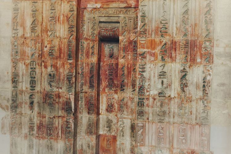 Hyroglyphics Hyroglyphic Symbiotic Wall Ancient History Patern