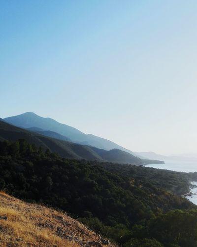 Mountain Blue Nature Green Izmir Kusadasi Sea