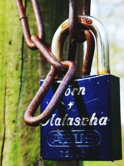 Love chain EyeEm Lover Lock Rusty Padlock Hanging Metal Close-up Love Lock Locked Hope Chain