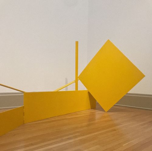 •its all yellow• Paint The Town Yellow Yellow No People Staircase Indoors  Home Interior Architecture Day Close-up Abstract Art Abstract Tate TateBritain •