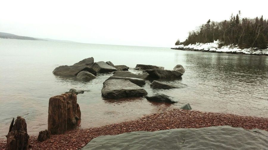 Hello World Enjoying Life Taking Photos Capture The Moment Snowmobiling Lake Superior Upper Michigan Shore