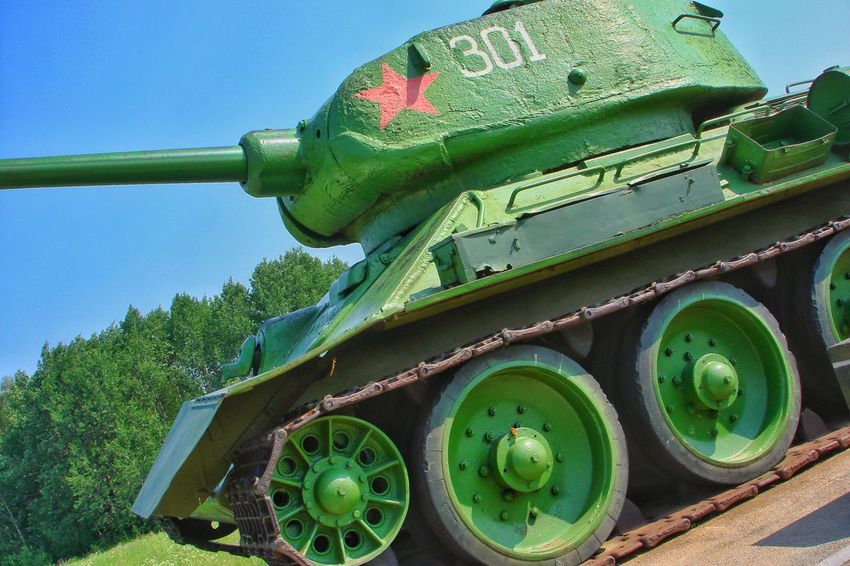 Tank Tanks T34 Land Vehicle Green Color Motor Vehicle Ussr Soviet Army