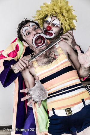 The Portraitist - 2015 EyeEm Awards The Moment - 2015 EyeEm Awards The Action Photographer - 2015 EyeEm Awards Payasos Payaso Clowns Clown Killer Creepy Horror