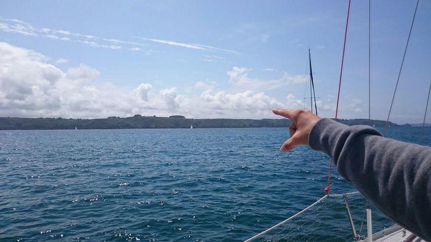 Holiday POV Bateau Bateaux Boats Boat Boarding Voiliers Voilier Voile Brest Miles Away