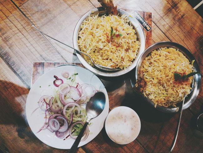 EyeEm Selects Dinner! Biriyanilove Shahi Andaaz Raita Foodphotography