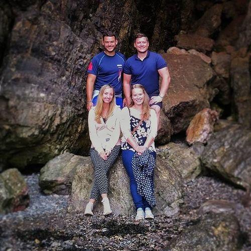 Family Breandowns Cove Cave Cliff Sea Seaside Shore Family Love