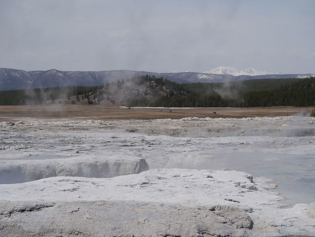 Beauty In Nature Day Fountain Paint Pot Area Idyllic Nature No People Non Urban Scene Non-urban Scene Outdoors Remote Scenics Tranquil Scene Tranquility Yellowstone National Park