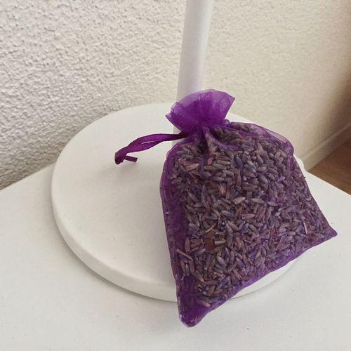 Lavender bag.