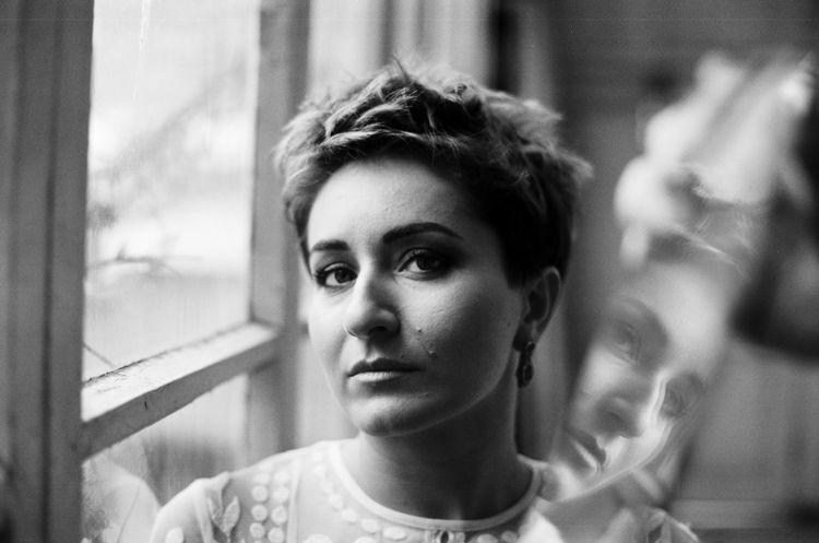 Analogue Analogue Photography Bnw Bnw_collection Film Gray Lashafox Opéra Photoshoot Portfolio Portrait Reflection Salome Jicia Singer  Tbilisi Tsertsvadze Window