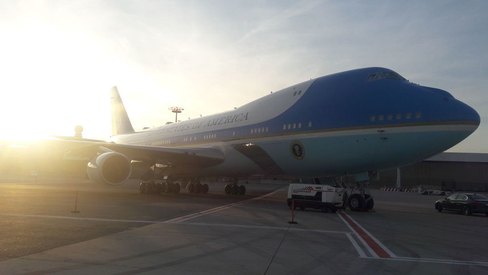 Airplane Transportation Airport Travel Sky POTUS POTUS USA USA Photos Aviation Aviationphotography Planespotting Planes Planespotters Boeing 747 Boeing President AirPlane ✈ Airplane Shot Airlinepilot Airport Waiting Airlines Airplanes