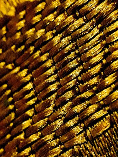 fabric pattern golden tread line Backgrounds Full Frame Textured  Pattern Close-up Repetition Surface Crisscross Clear Many Peaceful Soft Grid Shallow In A Row LINE Detail Mat Seamless Pattern Woven