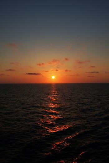 Sun Rise Beauty In Nature Dramatic Sky Horizon Horizon Over Water Idyllic Nature No People Open Water Outdoors Scenics Sea Sky Sun Tranquil Scene Tranquility Water