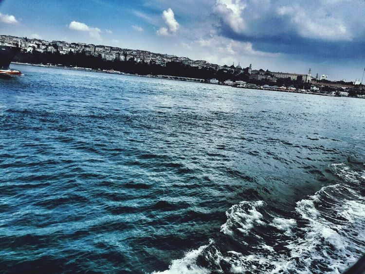 Sea Sky Cloud - Sky Day Nature Architecture Built Structure Scenics Wave Water Hello World EyeEm Nature Lover Popular Photos