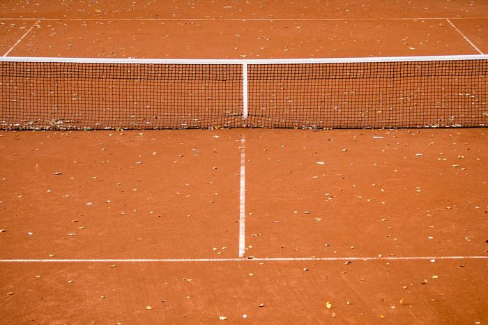 Backgrounds Close-up Court Day Full Frame Netz No People Outdoors Pattern Sport Sunlight Tennis Tennis Tennisplatz