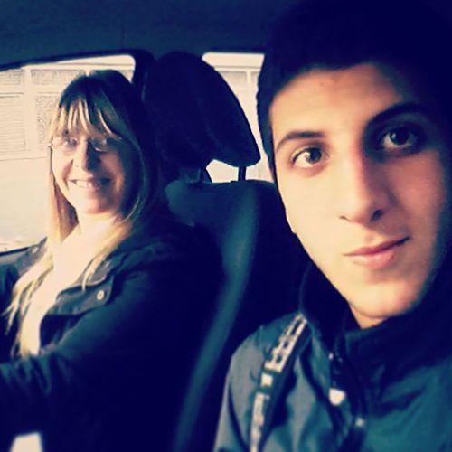 In da car with mari Car 420 Tranqui420 Viajanding