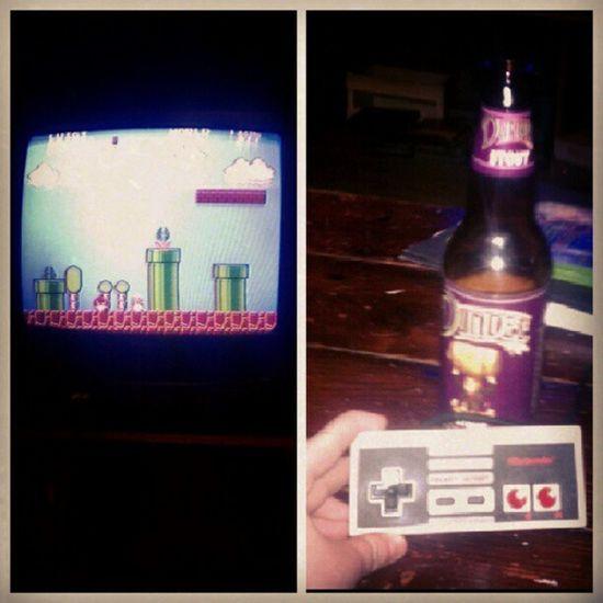 Oh hell yes. Nintendo Supermariobrothers Beer @zimmerfeir