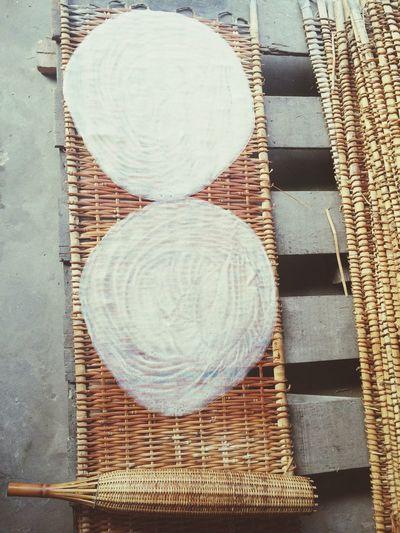 Vietnam Mekong Delta Vietnamese Ricepaper Ricenoodles Drying Rice Palmleaves Factory Handmade