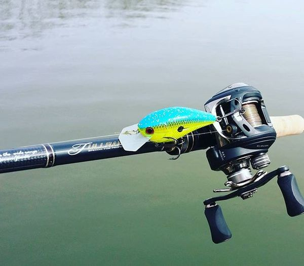 My combo today Bassfishing Fishing Livingstonlures Tailwalker Taiwalk Combo Rods Reels