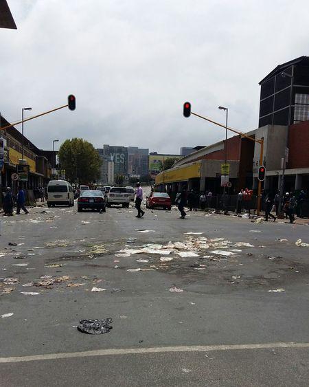 Showcase March Turmoil Anger Toi-toi How Do We Build The World? The Broken City